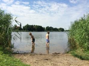 Badestelle am Kühnauer See