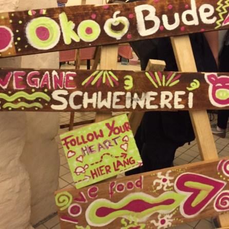 Veganes von der Öko-Bude
