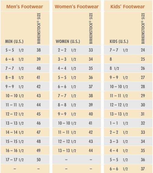 Size Chart - Abbadabba\u0027s