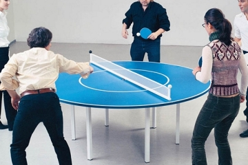Game Face Ping Pong Paddle