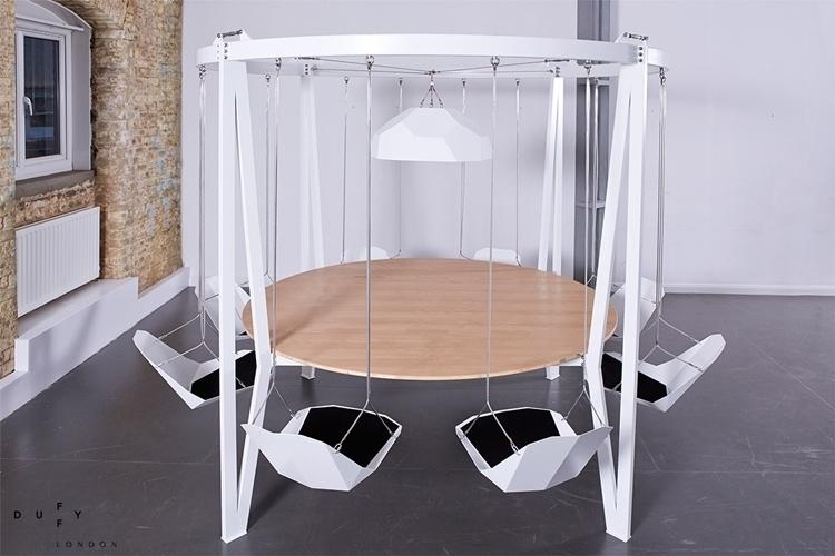 King Arthur Round Swing Table