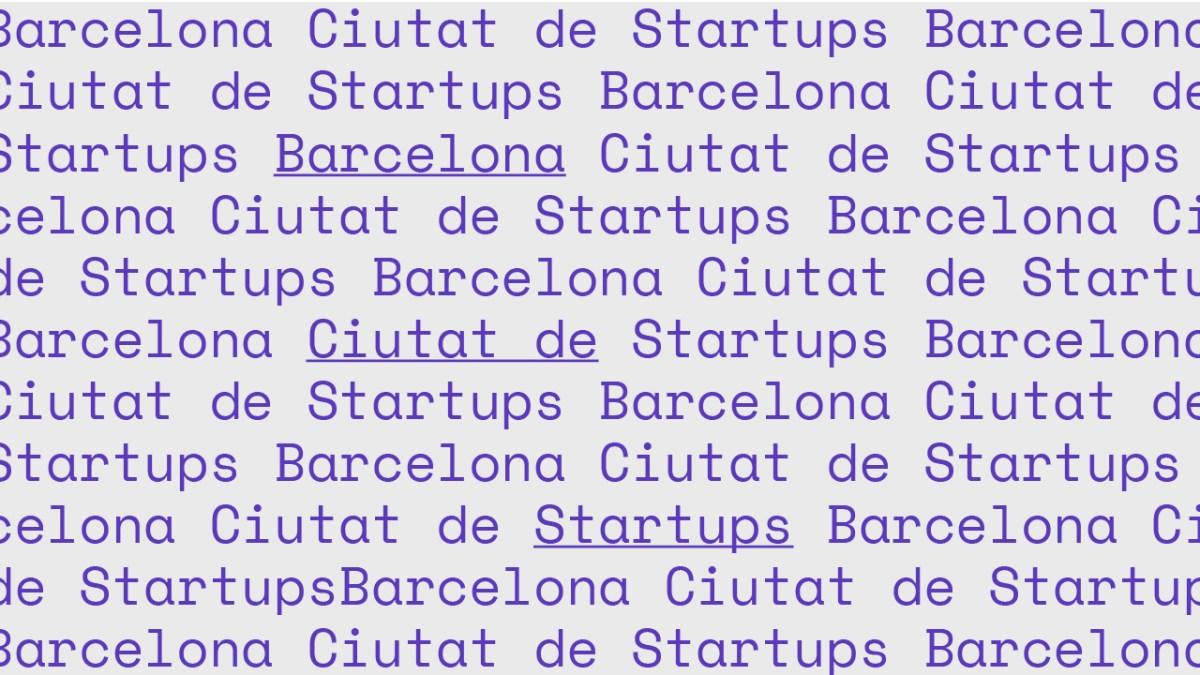 Barcelona Ciutat de Startups