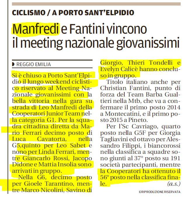 Gazzetta 21-06-2017