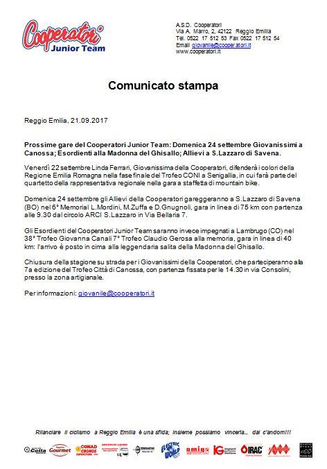 Coop JT Com stampa 21-09-2017