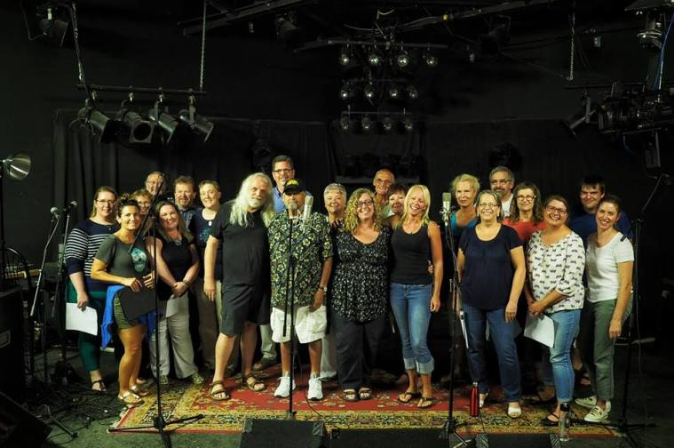 Grand River Voices with Dave Beatty (QED Media), Nick Blagona, Lily Sazz, and Amy Di Dino