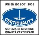 Logo - UNI EN ISO 9001 2008