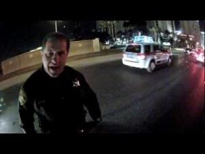 Las Vegas Officer – Rear End Rage