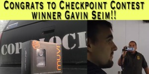 Congrats Gavin Seim! Winner of The Checkpoint Contest