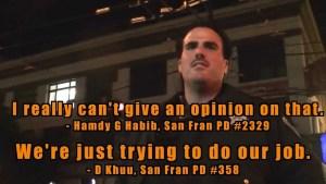 """San Fran PD Employees """"Jack"""" Videographer & Deem Him Sovereign Citizen"""