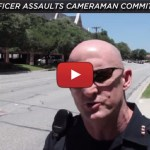 addison police officer assaults cameraman