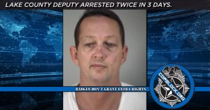 lake county cop arrested three times