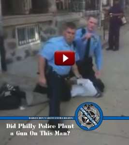 Philly Police Beating Gun