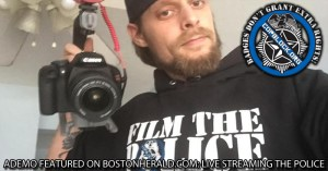 Ademo Featured on BostonHerald.com: Live-Streaming the Police