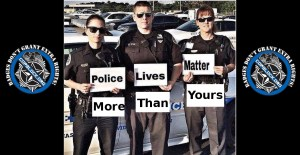 We Already Know That Police Lives Matter (More)