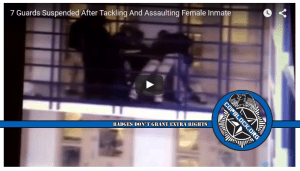 Video: Seven Jail Guards Suspended After Female Inmate Assaulted, Tasered