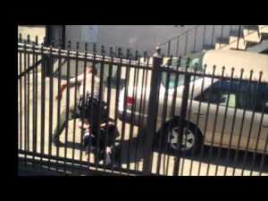 NEW VIDEO FOOTAGE SHOWS NOEL AGUILAR SHOT FROM BEHIND BY LA COUNTY SHERIFF DEPUTY