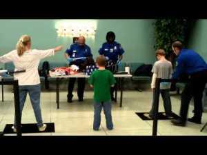 TSA Aggressively Pats Down a 10 Year Old Girl!!!
