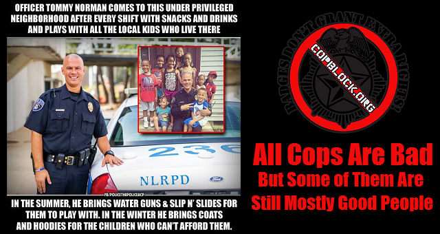 all cops are bad