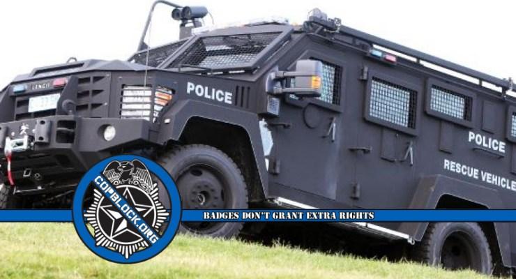 BearCat Militarized Police