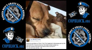 Virginia State Trooper Christopher D. Campbell Even Kills Dogs During His Off Time