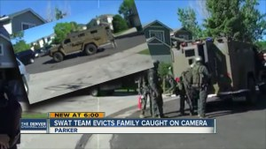 SWAT Team Serves Eviction Notice Even Though 'Suspect' Was Already in Custody!