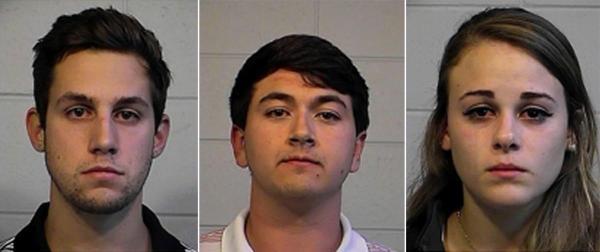 University of Alabama Students Arrested Video