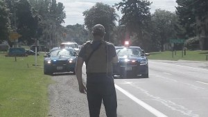 Jackson (MI) CopBlockers Troll State Agents with TWO MAN Open Carry Marches