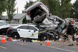 Cop Crashes into Vehicle; Obstruction of Justice Charges Fabricated Against the Victim