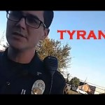 VIDEO: Man Arrested by Police for Working