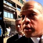 US Marshals Assault Man Holding Sign and Filming on Public Sidewalk at Federal Courthouse