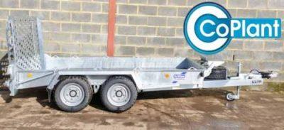 IFOR WILLIAMS TRI AXLE TB5021-353 TILT BED TRAILER - Coplant.co.uk