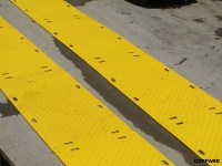 Plastic Road Plates & CNC Machine Plastic Ground ...