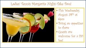 Ladies Tennis Margarita Night Take Two