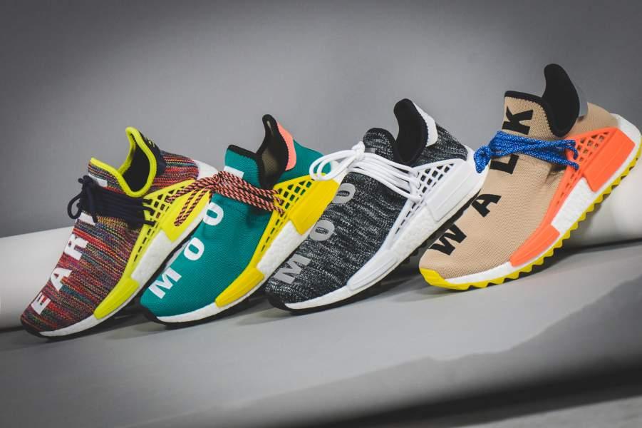 Pharrell Williams X Adidas Nmd Hu Trail Quothiking Pack