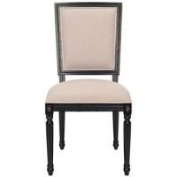 Ballard Design Louis XVI Square Back Chair - Copy Cat Chic
