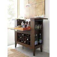 Bourbon Barrel Bar Cabinet | Mail Cabinet