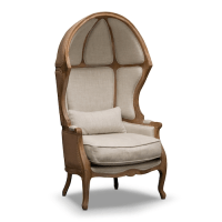 Restoration Hardware Versailles Burlap Backed Chair ...