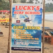luckys surf school weligama