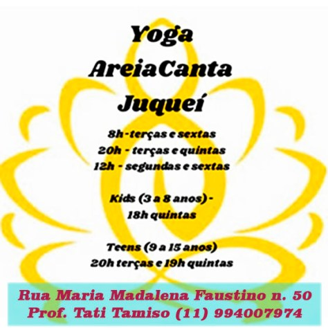 horarios Yoga