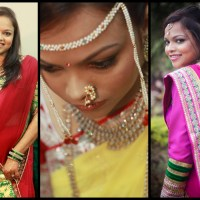 The Bride for whom I was the Makeup Artist - The Story & Pictures of Behind & on the Scene