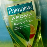 Pamolive Aroma Morning Tonic Shower Gel...Truly Perks up the Morning Notes!