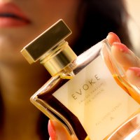 From All Good Scents: Evoke Perfume