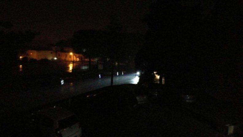 blackout illuminazione luce strada cronaca san-mariano