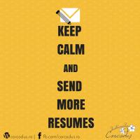 Despre CV-uri, recomandari si cum trimiti un e-mail