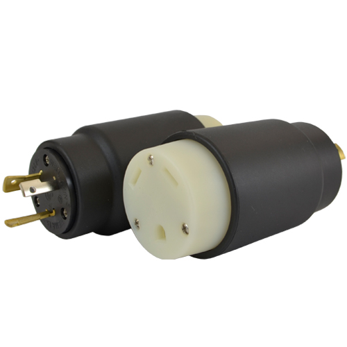 Conntek 14105 NEMA L5-20P to TT-30R Plug Adapter