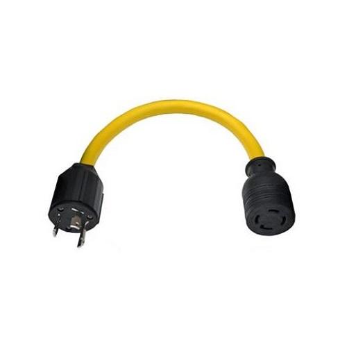 Conntek L520L1430 NEMA L5-20P to L14-30R Generator Pigtail Adapter