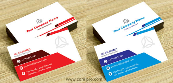 Business cards Archives - corelpro - business card template design