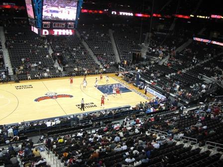 First trip to Phillips Arena Corey Brinn dot Com