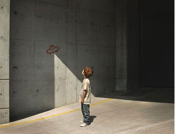 street ufo (anonymous artist)
