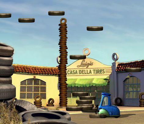 Mater Cars Wallpaper Cars Luigi S Casa Della Tires Online Game